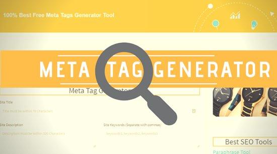 online meta tag generator