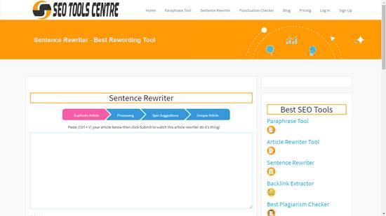 sentence rewriter online