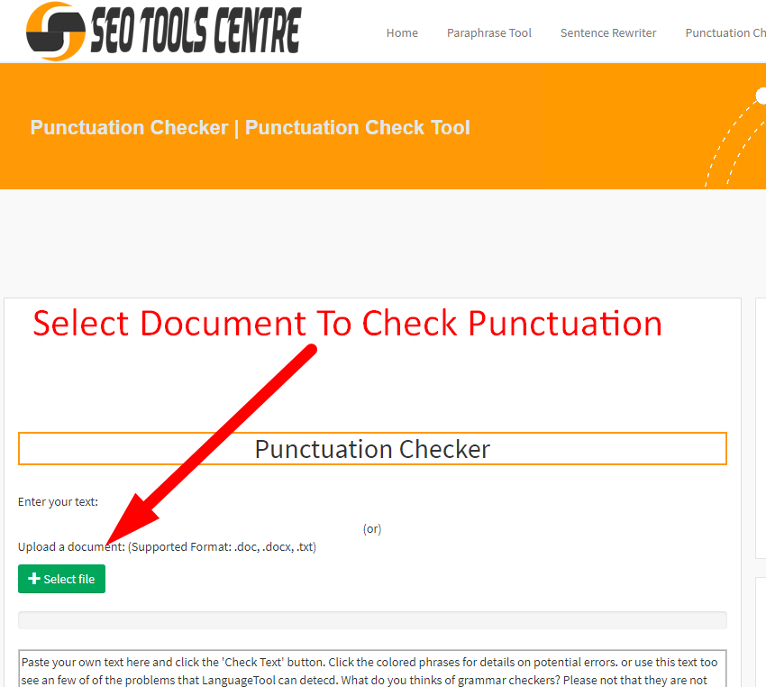 check my grammar and punctuation free