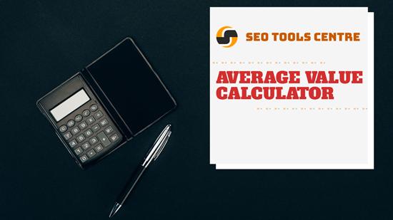 Average value calculator