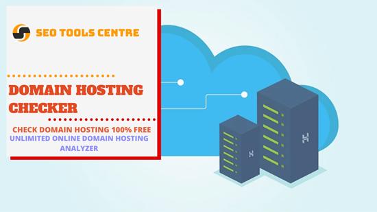 SEO Tools Centre Domain Hosting Checker