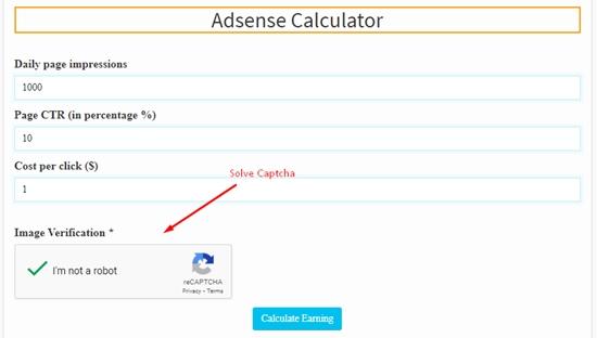 how to calculate adsense revenue step 4