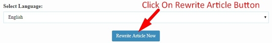 How To Use Plagiarism Changer Tool Step 4