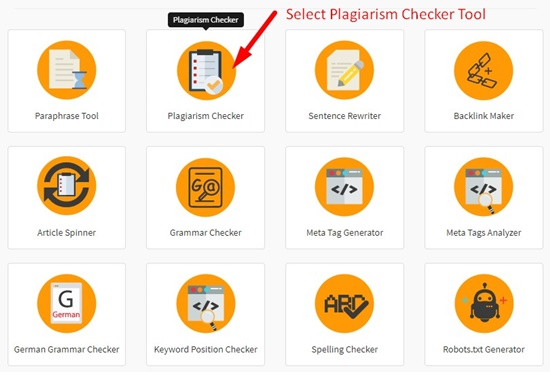 Plagiarism Checker Tool