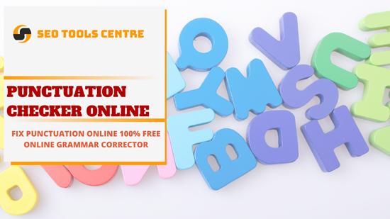 SEO Tools Centre Punctuation Checker