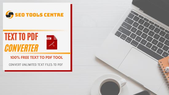 Txt To PDF Converter Online