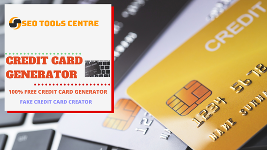 SEO Tools Centre Credit Card Generator