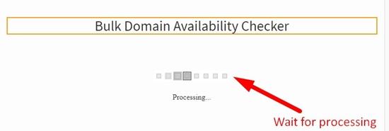 how to check bulk domain availability step 3