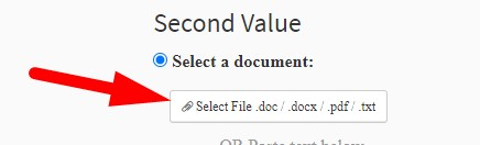 How to check different between text or two text files online step 3