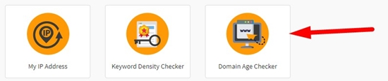 How to check domain age step 1
