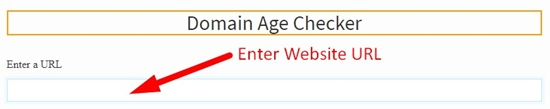How to check domain age step 2