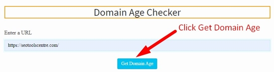 How to check domain age step 3