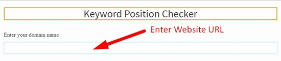 how to check keyword position step 2