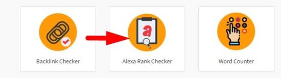 How to check website Alexa rank online step 1