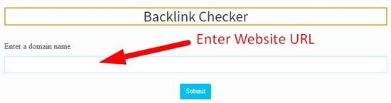 how to check website backlinks step 2