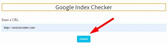 How to check website google index step 3