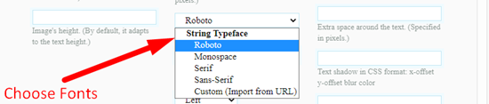How to convert text to image online step 4