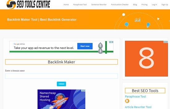 How to create backlinks step 1
