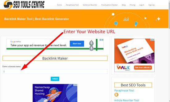 How to create backlinks step 2
