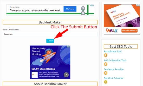 How to create backlinks step 3
