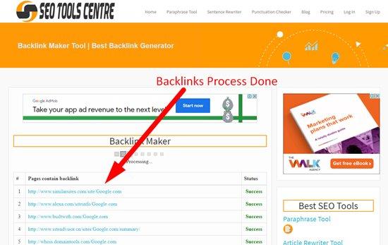 How to create backlinks step 4