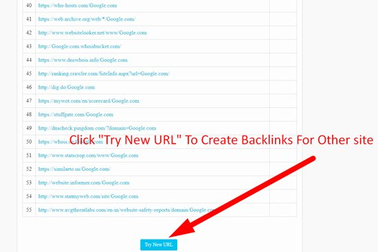 How to create backlinks step 5
