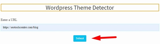 how to detect wordpress theme step 3
