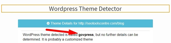 how to detect wordpress theme step 4