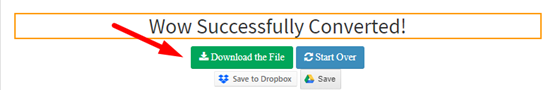 How to encrypt pdf file online step 4