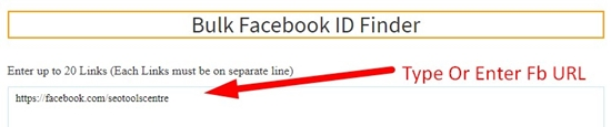 How to find facebook profile id number step 2