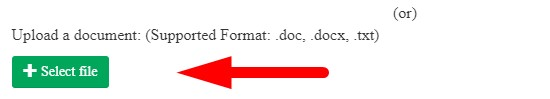 How to fix punctuation online step 3