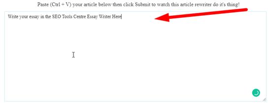 How to rewrite my essay online step 2