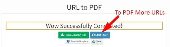 how to save webpage to pdf step 4