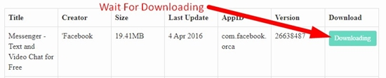 how to use apk downloader step 4