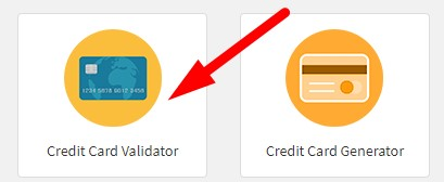 How to validate credit card online step 1