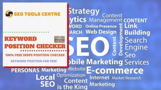 SEO Tools Centre Keyword Position Checker