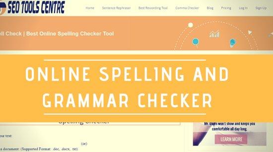 online spell checker