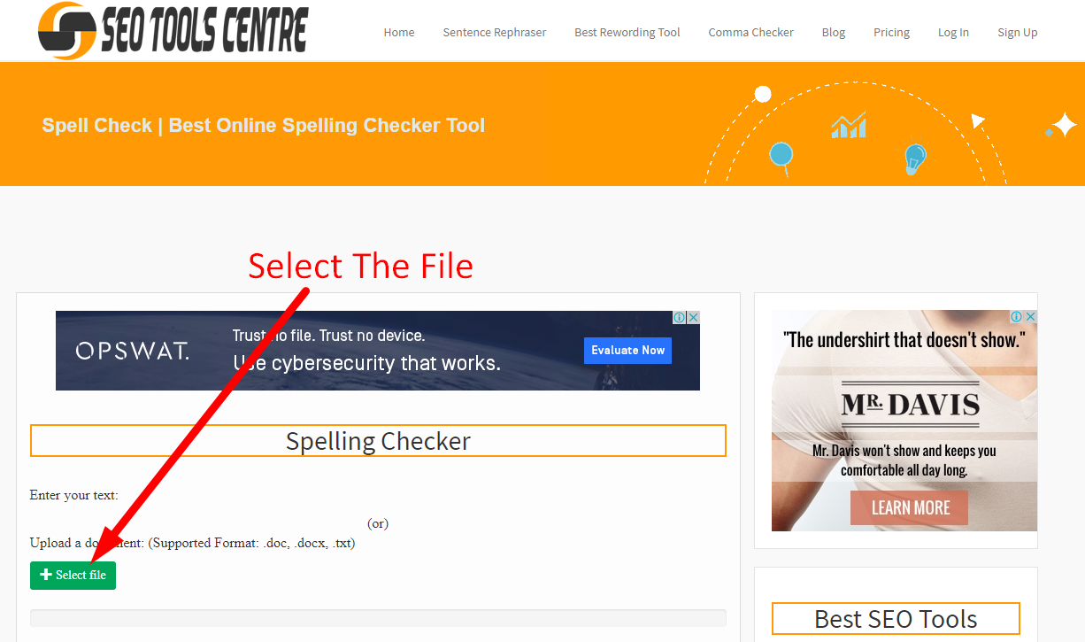 Online Spelling Checker To Check Spelling