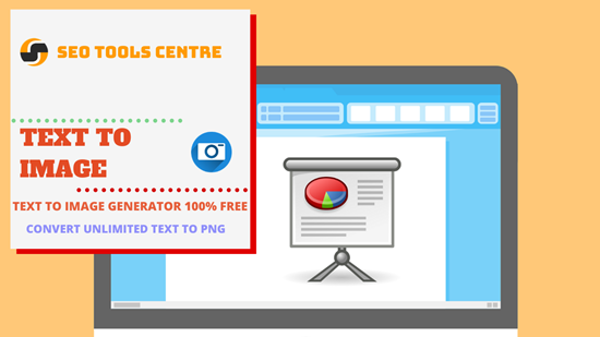 SEO Tools Centre Text To Image Generator